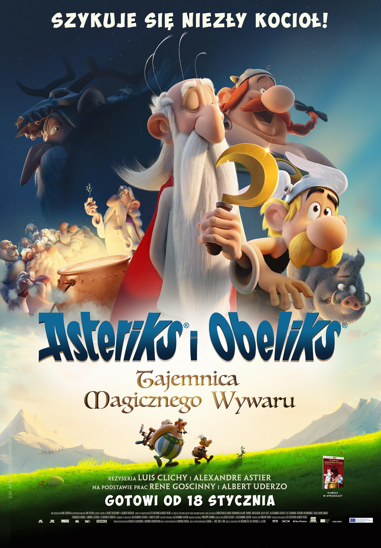 ASTERIKS I OBELIKS TAJEMNICA MAGICZNEGO WYWARU 2D DUBBING